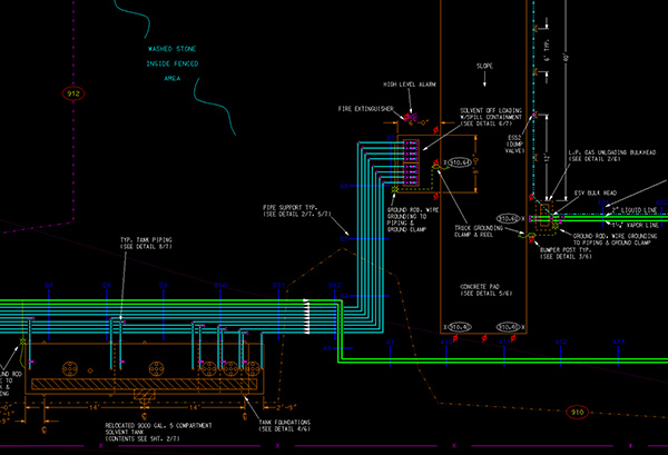 CADD Environmental Map TAC Technical Assistance Company