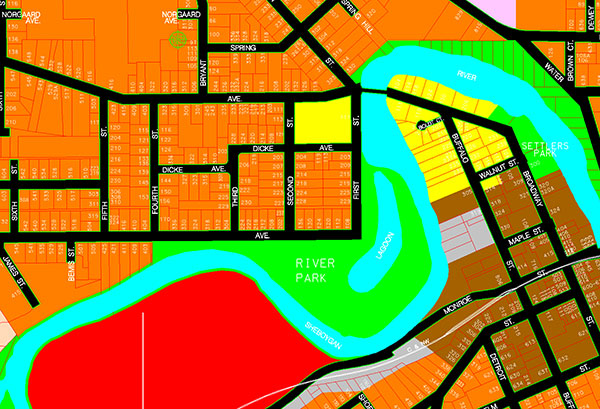 CADD Zoning Map TAC Technical Assistance Company